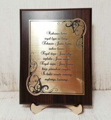 Auksinių vestuvių sveikinimas